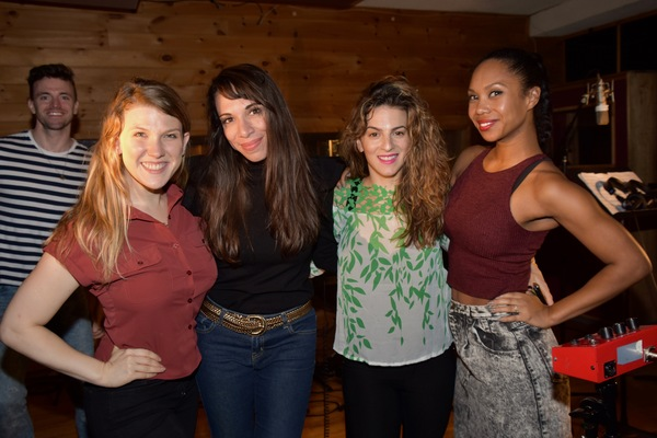 Tara Llewellyn, Ellyn Marie March, Renee Marino and Lauren Lim Jackson
