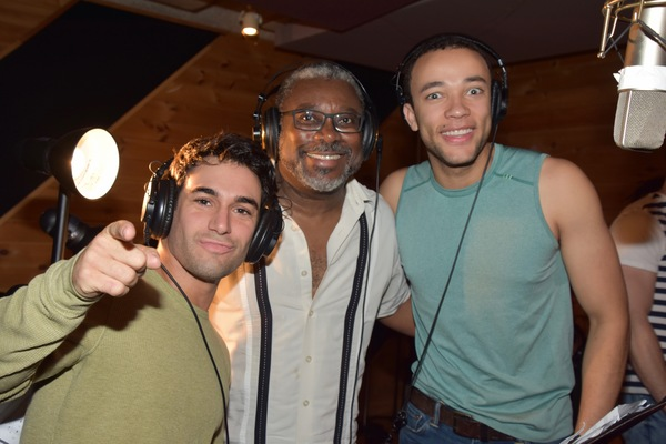 Tommy Bracco, Kingsley Leggs and Robby Clater Photo