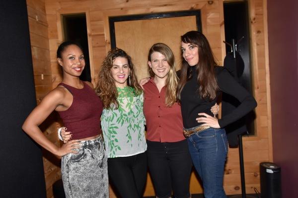 Lauren Lim Jackson, Renee Marino, Tara Llewellyn and Ellyn Marie Marsh