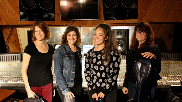 The Wicked Strings that includes-Amy Ralske, Patricia Davis, Kiku Enomoto and Jan Merman