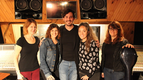 Daniel Lincoln with The Wicked Strings that includes-Amy Ralske, Patricia Davis, Kiku Photo