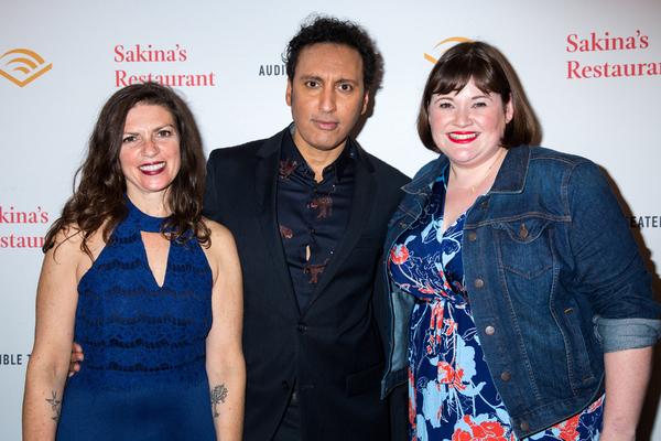 Kimberly Senior, Aasif Mandvi, Kate Navin