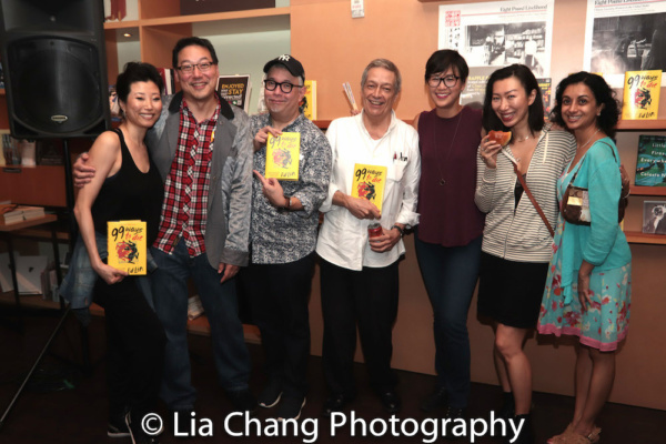Deborah S. Craig, author Ed Lin, Ralph Pena, Jorge Ortoll, Cindy Cheung, Jo Mei and N Photo