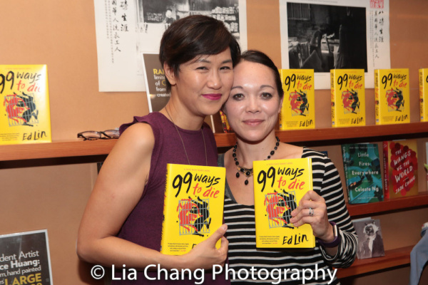 Cindy Cheung and playwright Sam Chanse