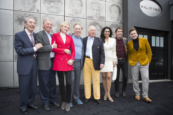 Photo Flash: Andrew Lloyd Webber and Guests Unveil Art Installation at London Palladium