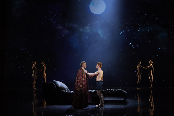 Thomas Hampson as Hadrian and Isaiah Bell as Antinous in the Canadian Opera Companyâ Photo