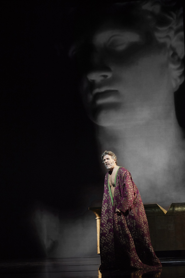Thomas Hampson as Hadrian in the Canadian Opera Company's world premiere production of Hadrian