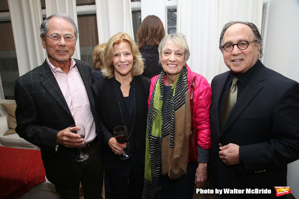 Ron Harrington, Barbara Olcott, Carol Hall and Leonard Majzlin during The DGF's 14th  Photo