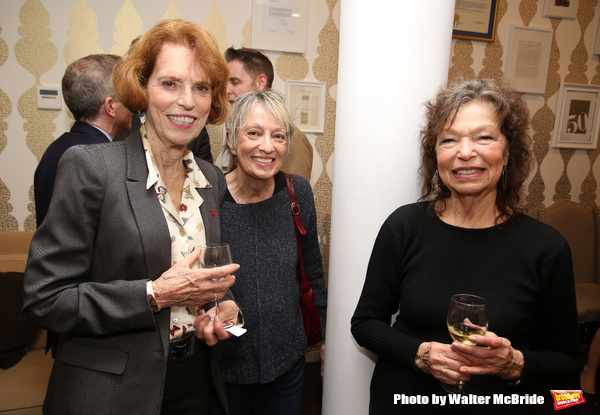 Susan Laubach, Carol Hall and Gretchen Cryer during The DGF's 14th Biannual Madge Eva Photo