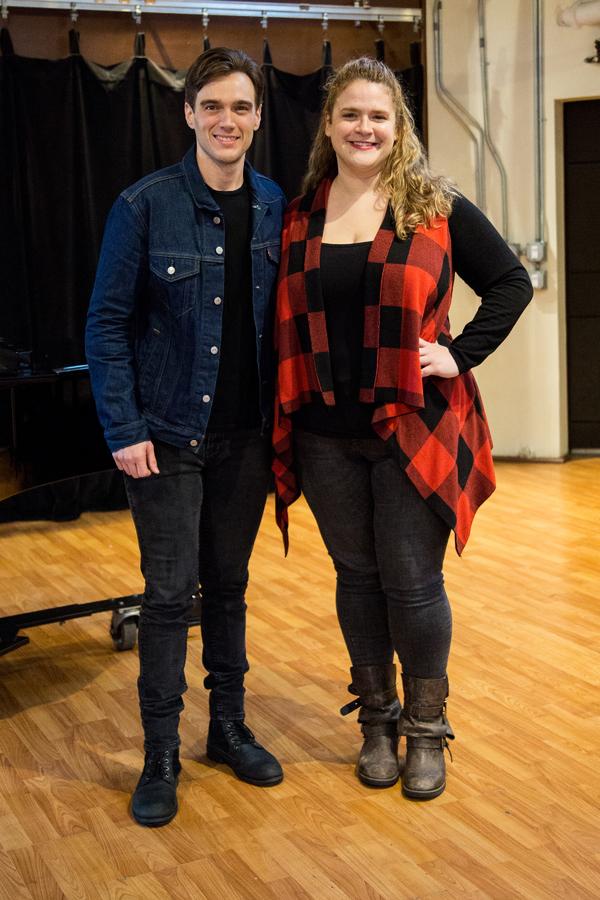 Photo Coverage: Bonnie Milligan, Conor Ryan & More Rehearse for Abingdon's CLOSER THAN EVER Gala!