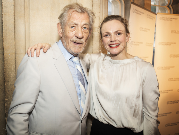 Ian McKellen and Maxine Peake