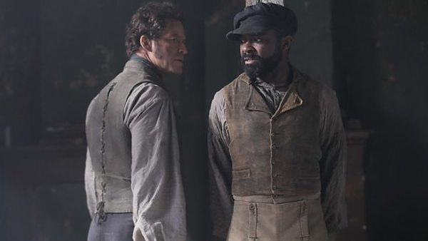 Dominic West and David Oyelowo