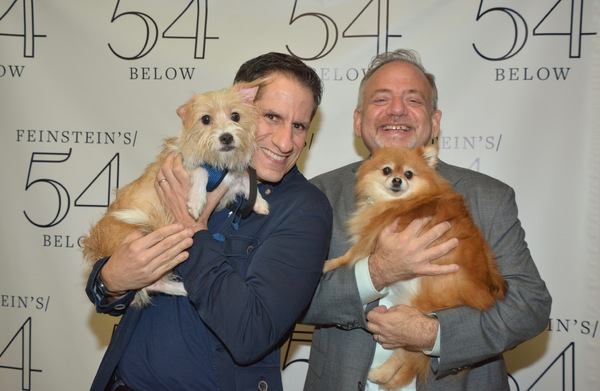 Peter Pan, Seth Rudetsky, Trixie and Marc Shaiman