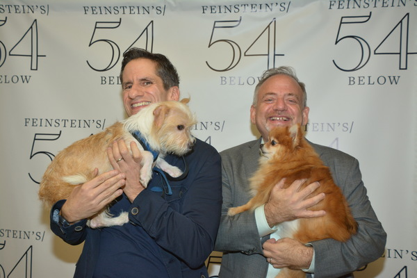 Photo Coverage: Backstage at the BEST IN SHOWS Benefit Concert at Feinstein's/54 Below