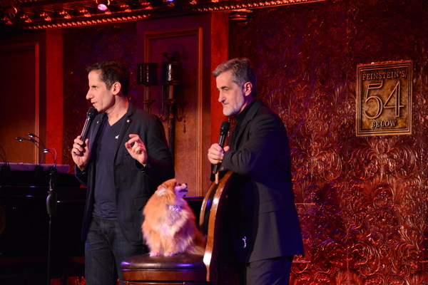 Seth Rudetsky, Trixie and Bill Berloni