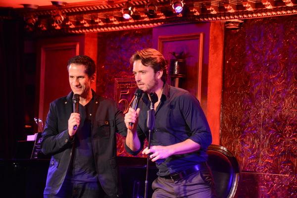 Seth Rudetsky and James Snyder