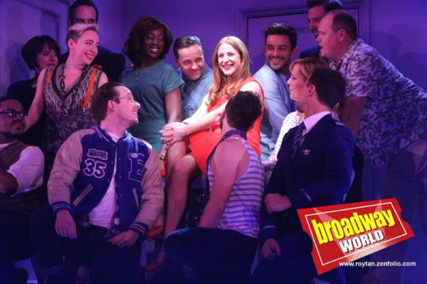 Exclusive Photo Flash: Patti LuPone and the Cast of COMPANY