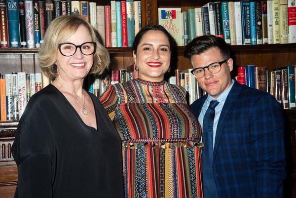 Mari Marchbanks, recipient Jaclyn Backhaus, and Will Davis