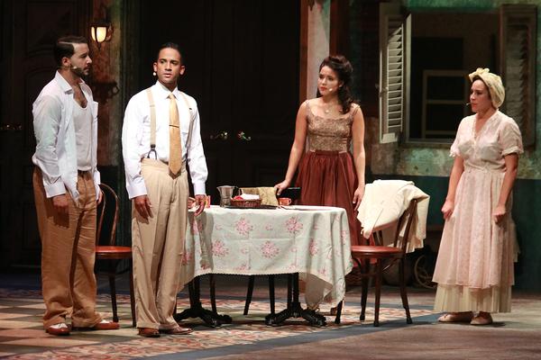 Bruno Faria, Alexander Pimentel, Linedy Genao and Elaine Flores Photo