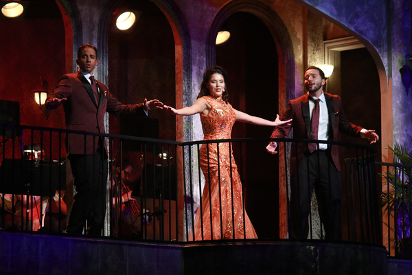 Photo Flash: Inside the World Premiere of HAVANA MUSIC HALL