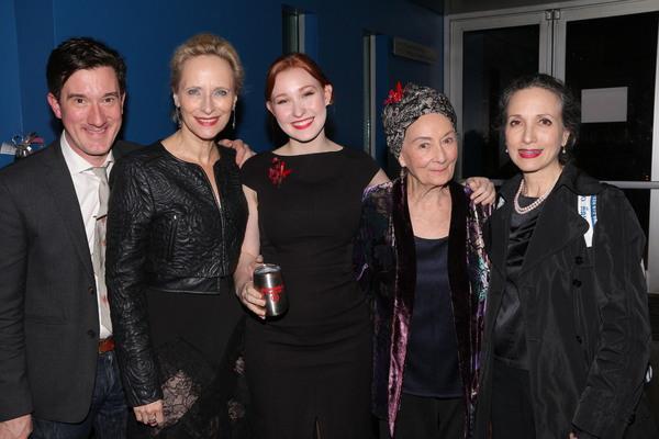 Carson Elrod, Laila Robins, Chessa Metz, Rosemary Harris, and Bebe Neuwrith Photo