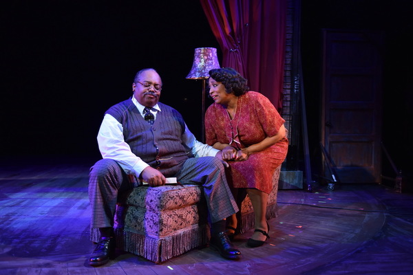 """(L to R) J. Michael Jones as """"Pop� and E. Faye Butler as """"Rose�"""