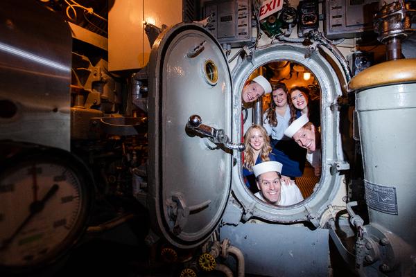 Lauren Corcoran Emrich, Christopher Scott, Gillian Hassert, Patrick McNally, Rebecca  Photo