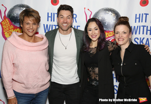 Alexandra Billings, Ace Young, Diana DeGarmo and Christine Rea