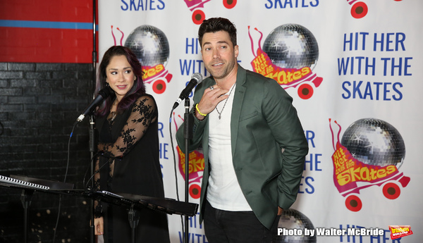 Diana DeGarmo and Ace Young