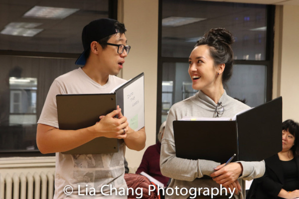 Photo Flash: Ann Harada, Raymond J. Lee, Jason Ma And More In NAAP's INTO THE WOODS Rehearsal