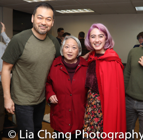 David Shih (the Wolf), Virginia Wing (Grandmother), Alex Chester (Little Red Ridinghood)