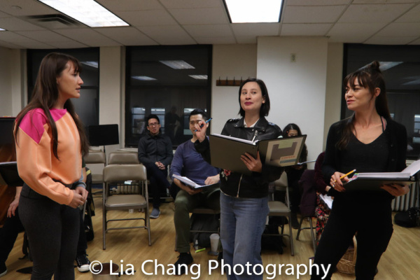 Katie Mariko Murray (Cinderella), Rebecca Lee Lerman (Lucinda), Kimbirdlee Fadner (Florinda)