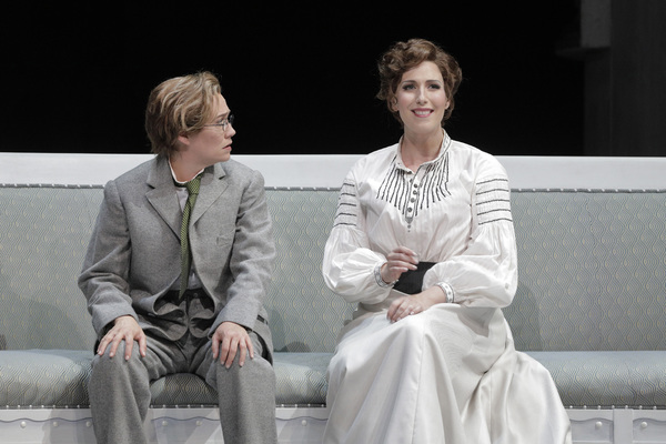 Heidi Stober as Zdenka and Ellie Dehn in the title role