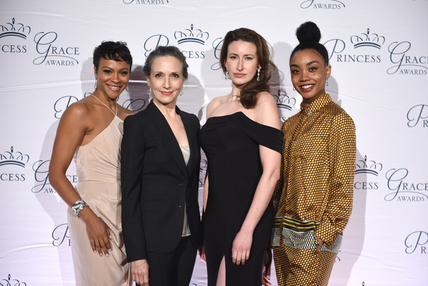Carly Hughes, Bebe Neuwirth, Emma Duncan and Marcella Lewis