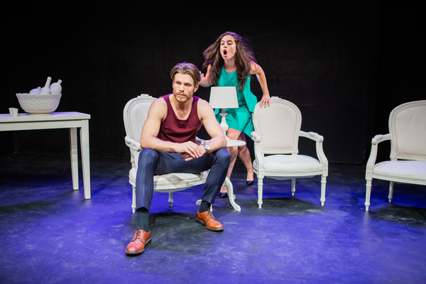 Photo Flash: First Look at AMONG THE FURIES at FringeNYC