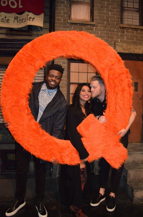 Photo Flash: Pentatonix Pays a Visit to AVENUE Q