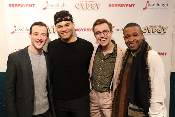 Jeff Pierpoint, Marco Tzunux, Joshua Bishop and Marvin J. Malone II Photo