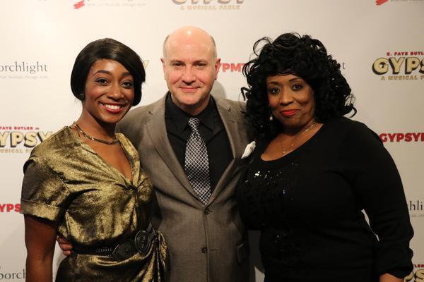Daryn Whitney Harrell, Director Michael Weber and E. Faye Butler