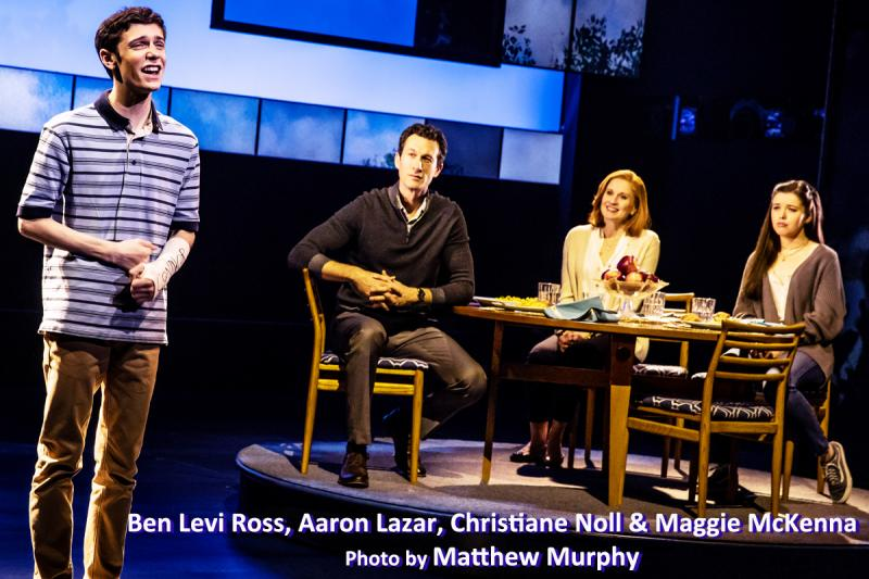 BWW Interview: DEAR EVAN HANSEN's Ben Levi Ross & Jessica Phillips Connecting Truthfully