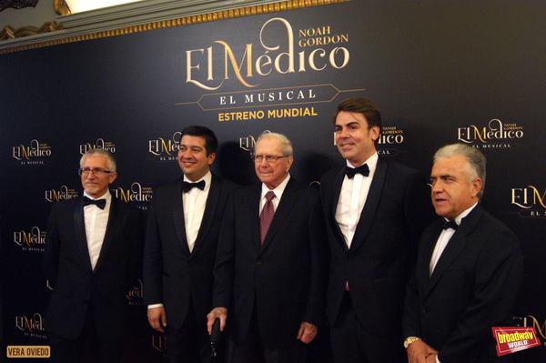 Felix Amador, Ivan Macias, Noah Gordon y Pablo Martinez