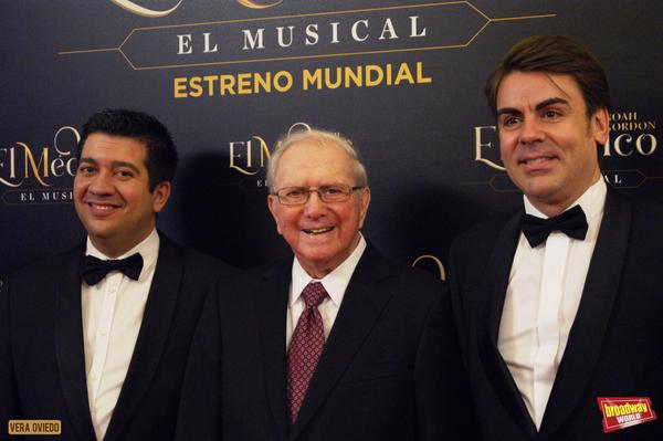 Ivan Macias, Noah Gordon y Pablo Martinez