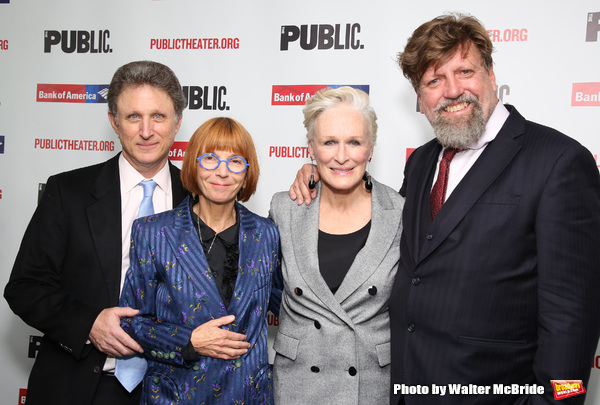 Matthew Penn, Jane Anderson, Glenn Close and Oskar Eustis