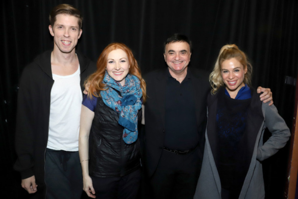 Lawrence Leritz and his dancers Chad Sapp, Abigail Mentzer and Laura Kaufman