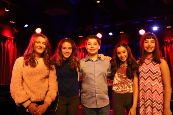Kolette Tetlow, Molly Richardson, Joshua Turchin, Mckayla Twiggs, Shaina Turchin Photo