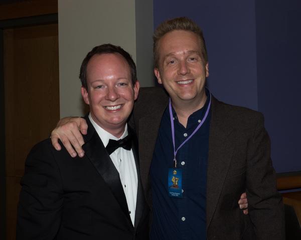 Musical Director/Conductor Corey B. Hirsch and Director David F.M. Vaughn