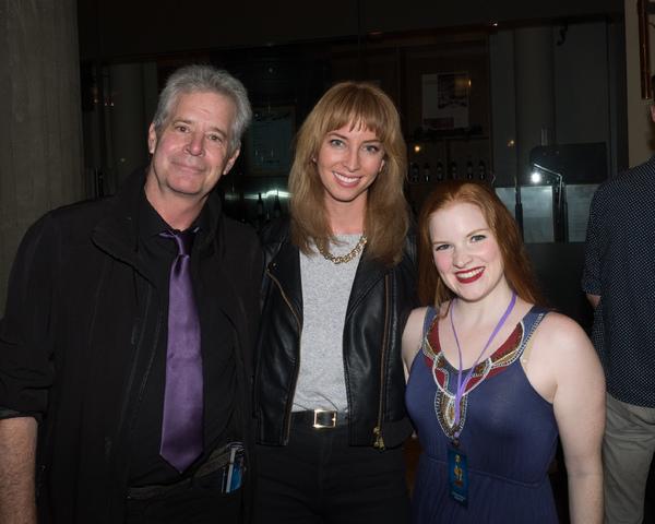 Robert Yacko, Julia Aks, and Stephanie Urko