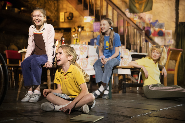 Brooklyn Shuck (Nunu (Nuala) Carney), Matilda Lawler (Honor Carney), Willow McCarthy (Mercy Carney), and Carla Langley (Shena Carney)