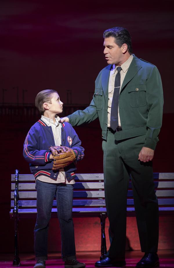 Frankie Leoni (Young C) and Richard H. Blake (Lorenzo)