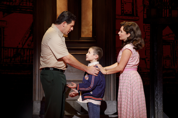 Richard H. Blake (Lorenzo), Frankie Leoni (Young C) and Michelle Aravena (Rosina) Photo