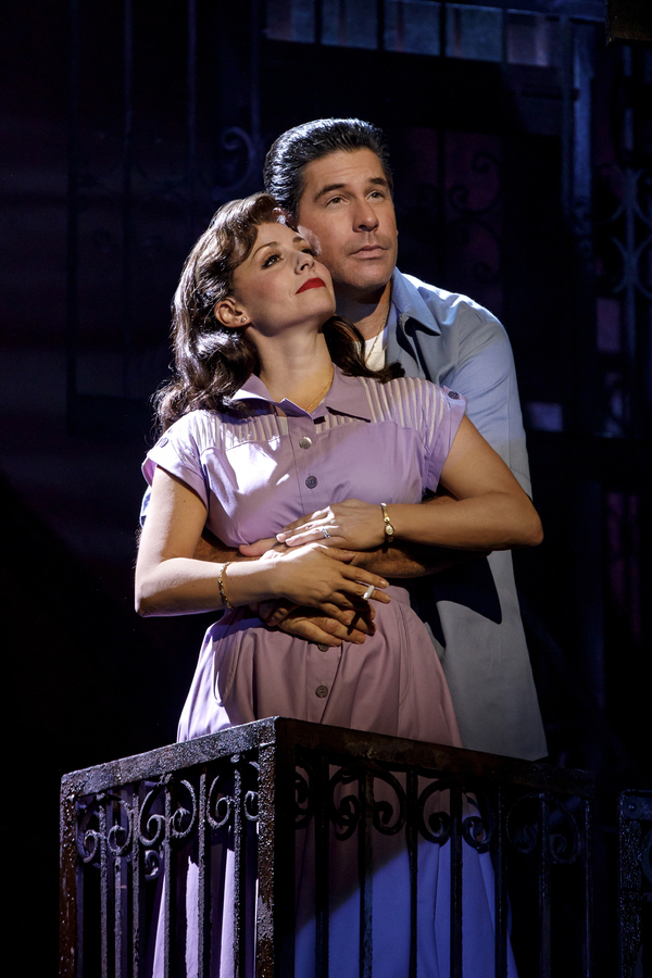 Michelle Aravena (Rosina) and Richard H. Blake (Lorenzo)  Photo
